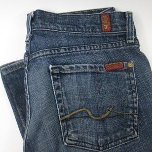 7 For All Mankind Boot Cut Jeans Women's 27